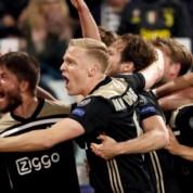 Wspaniały Ajax eliminuje Juventus z Ligi Mistrzów