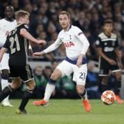 Liga Mistrzów: Ajax minimalnie lepszy od Tottenhamu w pierwszym półfinałowym meczu