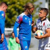 Skromna wygrana reprezentacji Islandii