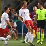 Najlepsi zawodnicy polskiej młodzieżówki podczas Euro U-21