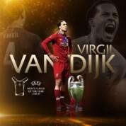 Virgil Van Dijk Piłkarzem Roku UEFA!