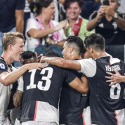Coppa Italia: Juve zwycięskie. Co wyprawia Ronaldo?