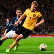 Grupa I el. Euro 2020: Kevin De Bruyne Show, kapitalne stałe fragmenty Cypru i zwycięstwo Rosji w ostatnich minutach