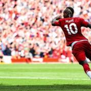 Premier League: Dublet Sadio Mane i trzy punkty pozostają na Anfield