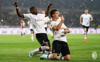 Serie A: Milan wygrywa, bramka Piątka