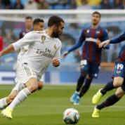 Real Madryt wygrywa z Levante, oficjalny debiut Hazarda!