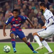 La Liga: Festiwal strzelecki na Camp Nou - piąte z rzędu zwycięstwo Barçy
