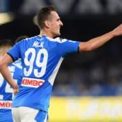 Arkadiusz Milik wrócił do kadry meczowej SSC Napoli