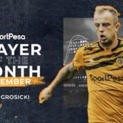 Kamil Grosicki wybrany najlepszym zawodnikiem Hull City we wrześniu
