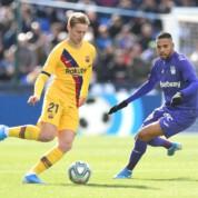 La Liga: Wymęczone zwycięstwo FC Barcelony z Leganes