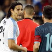 Cavani komentuje zajście z Messim
