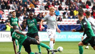 Puchar Francji: Problemy Nice i Lille, awans Lyonu