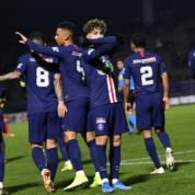 Puchar Francji: Problemy Marsylii i Lille, grad goli PSG