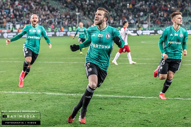 Domagoj Antolić, Legia, Ekstraklasa