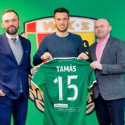 Oficjalnie: Márk Tamás w Śląsku Wrocław