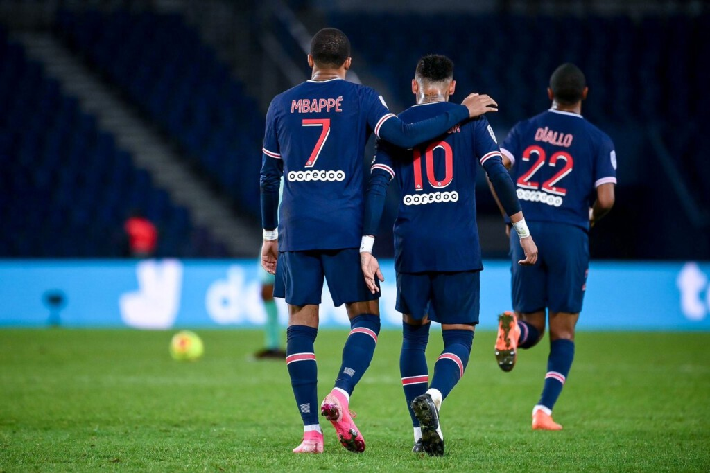 Mbappe i Neymar
