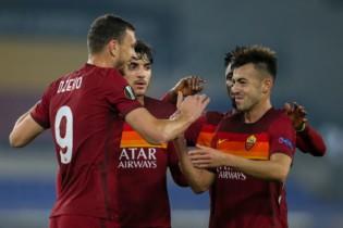 Liga Europy: Roma znów ogrywa Bragę i pewnie melduje się w 1/8