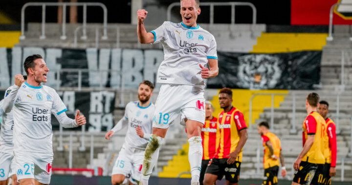 Arkadiusz Milik pierwszy gol w Olympique Marsylia