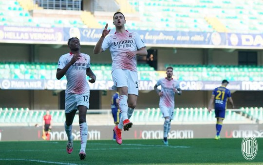 AC Milan Diogo Dalot