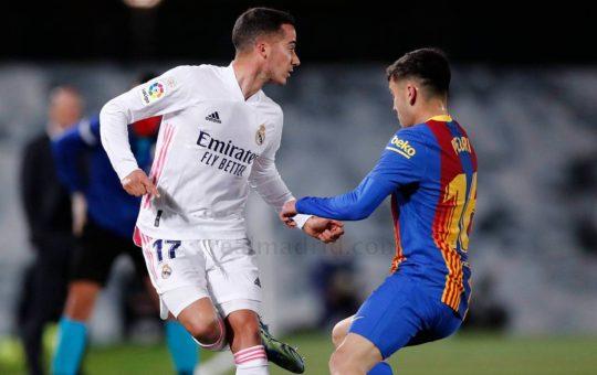 Lucas Vazquez Real Madryt FC Barcelona El Clasico