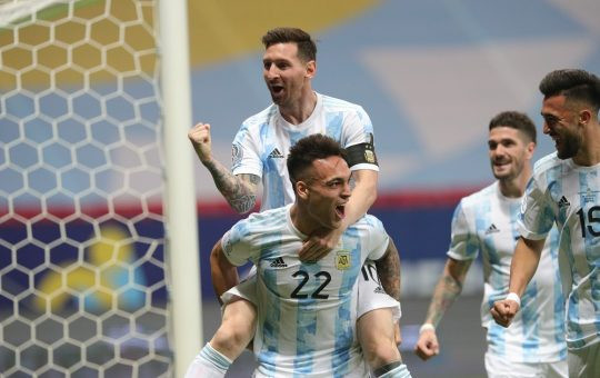 Leo Messi i Lautaro Martinez