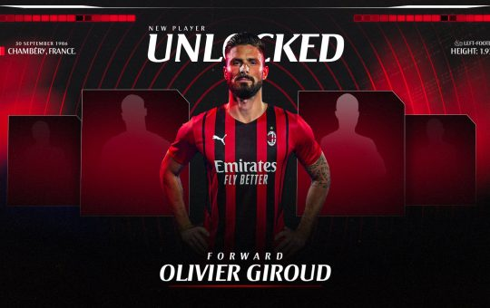 Olivier Giroud AC Milan