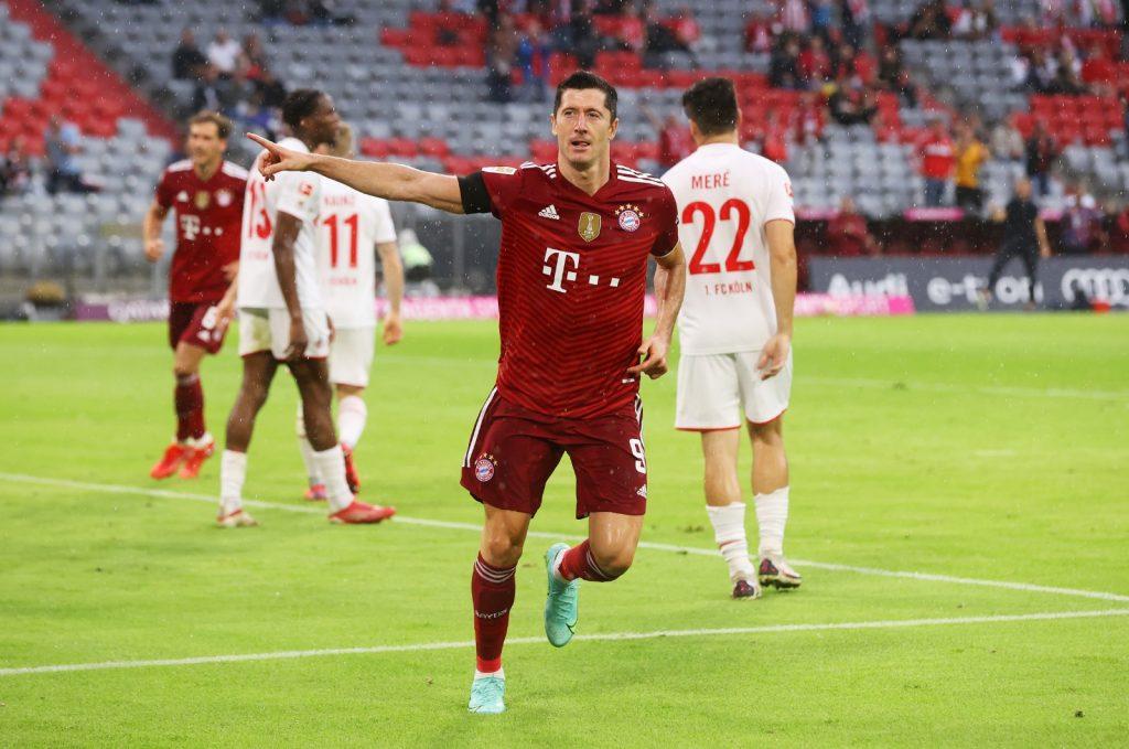 Robert Lewandowski - Bayern Monachium 2021