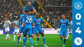 Serie A: Napoli gromi Udinese. Znakomity mecz Koulibaly'ego (Wideo)